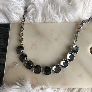 Lia Sophia Infinite Me Necklace Black Diamond